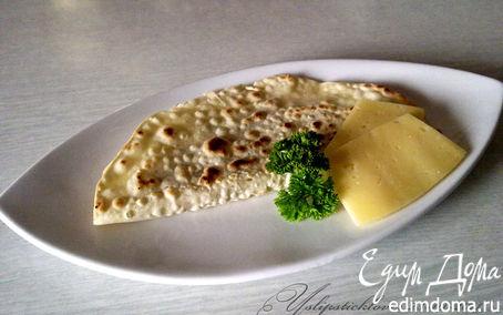 Рецепт Лепешка с сыром, орехами и зеленью