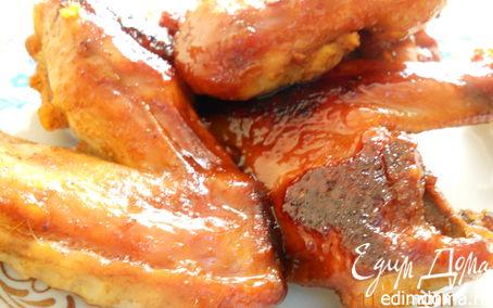 Рецепт Куриные крылышки - Медовые
