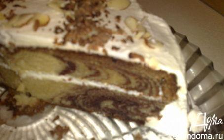 Рецепт торт зебра