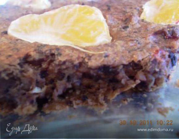 Пирог без сахара и без муки