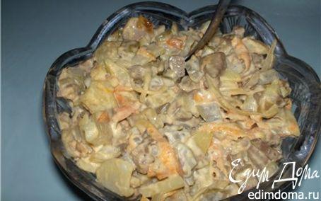 Рецепт Печеночный салат