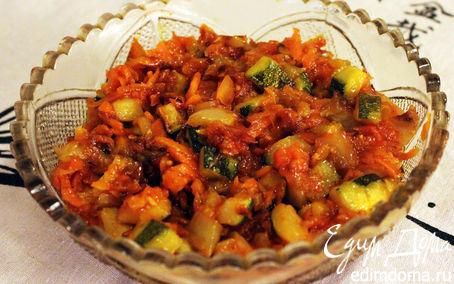 Рецепт Жареные овощи в томатной пасте