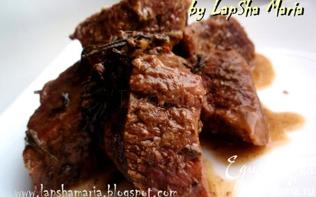 Рецепт Аббакьо. Мясо по-итальянски