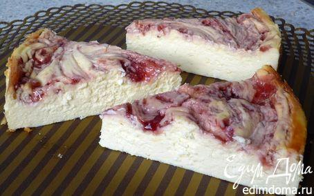 Рецепт Мраморный чизкейк без основы