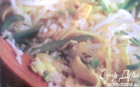 Рецепт Рис с яйцом и овощами- egg fu yung