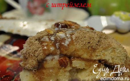 Рецепт Яблочный пирог с штрейзелем