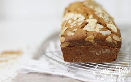 Рецепт Карамельный кекс с миндалем
