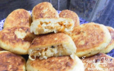 Рецепт картофельные пирожки с капустой