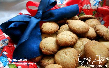 Рецепт Датское пряное рождественское печенье (Pebernodder)