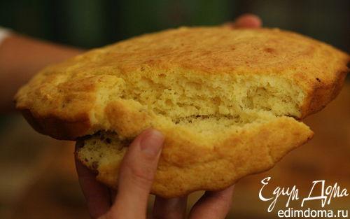 Рецепт Кукурузный хлеб на сале