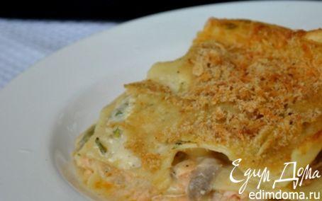 Рецепт Лазанья с морепродуктами