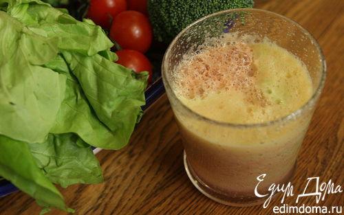 Рецепт Томатно-яблочный сок с цветной капустой и брокколи