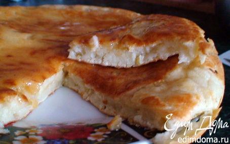 Рецепт Быстрый пирог или лепешка