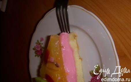 """Рецепт Йогуртовый торт """"Мультифрукт"""" в аэрогриле"""