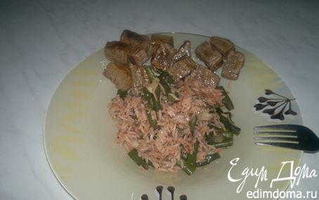 Рецепт Тайский рис с мятой и мраморная говядина