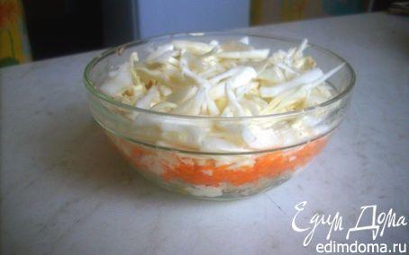 Рецепт Салат из свежих овощейи белого мяса