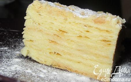 Рецепт – торт Наполеон с заварным кремом