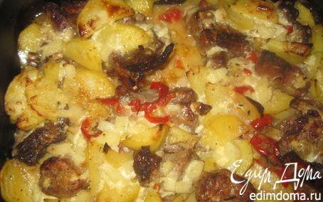 Рецепт Запеченные ребрышки в сметанном соусе