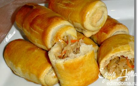 Рецепт Молдавские пирожки с капустой - ВЭРЗЭРЕ