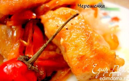 Рецепт Курица с овощами в восточном стиле