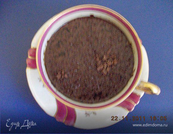 Кофе с грейпфрутом и шоколадом