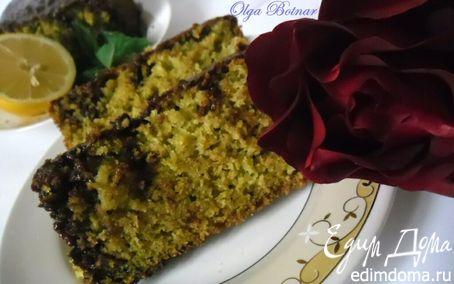 Рецепт Цитрусовый кекс с мелиссой