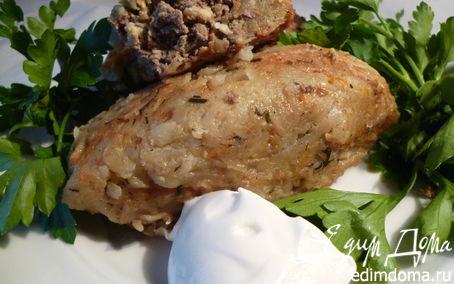 Рецепт Зразы картофельные.