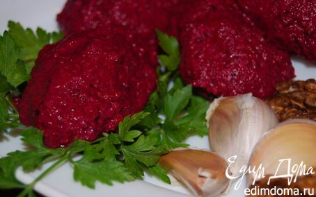 Рецепт Пхали из свеклы