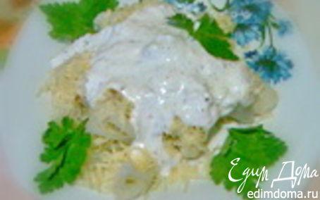 Рецепт Салат из цветной капусты с сыром