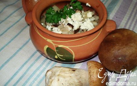 Рецепт Жаркое с белыми грибами