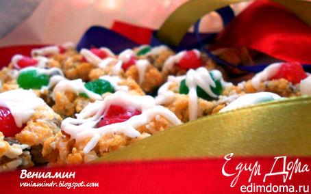 Рецепт Rudolf`s Christmas cookies/Рождественское печенье Рудольфа