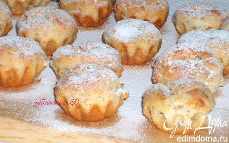 Рецепт Творожно-ореховые или шоколадные кексы