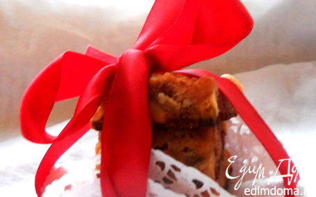 Рецепт Tescoma. Christmas Blondies
