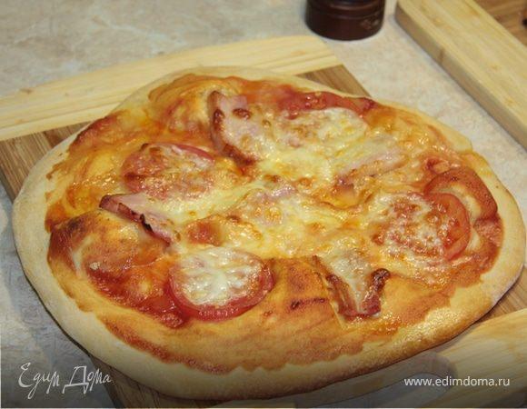 Пицца по-итальянски по-домашнему