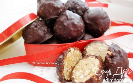Рецепт Шоколадные конфеты с арахисом