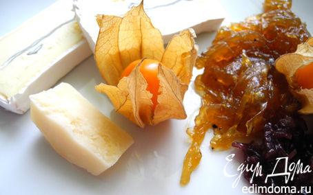 Рецепт Луковый мармелад к сырам и дичи