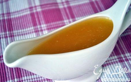 Рецепт Апельсиновый соус с бренди