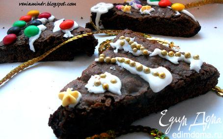 Рецепт Tescoma. Christmas tree brownies