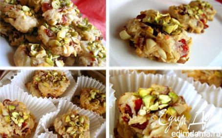 Рецепт Флорентийское печенье с фисташками (Tescoma)