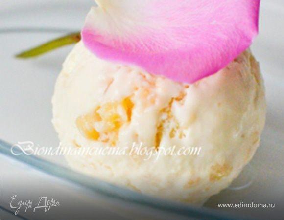 Сицилийское миндальное мороженое
