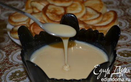 Рецепт Ванильное домашнее сгущенное молоко