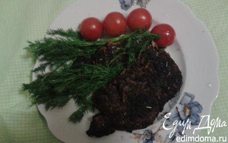 Рецепт Отбивная из свинины в панировке с кофе и розмарином