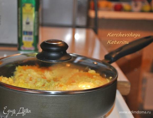Тайский рис с овощами. Быстрый ужин за 20 минут