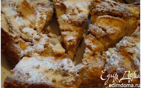 Рецепт Яблочно-миндальный пирог