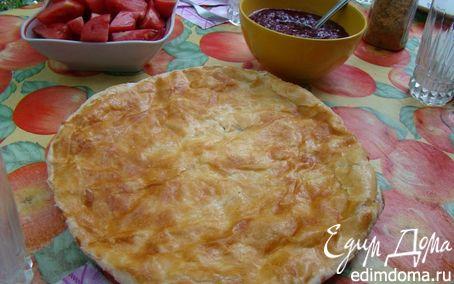 Рецепт – Хачапури (грузинская лепешка с сыром)