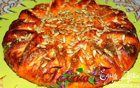 Рецепт Тыквенно-имбирный пирог.