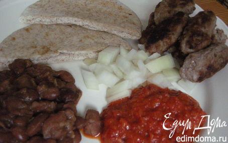 Рецепт Чевапчичи - Хорватские кeбабы