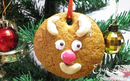 """Рецепт Tescoma.Медово- апельсиновое печенье """"Чёртики""""или сладкие подарки."""