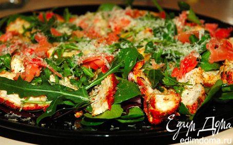 Рецепт Карпаччо из индейки в азиатском стиле (Asian Style Turkey Carpaccio).