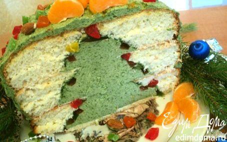 Рецепт Торт «Новогодняя елка»